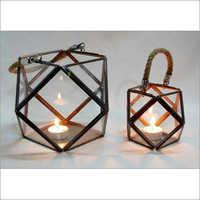 Designer Brass Lantern