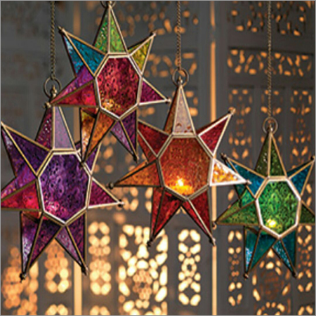 12 inches Star Wall Candle Lantern