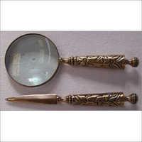 Brass Magnifying Glass