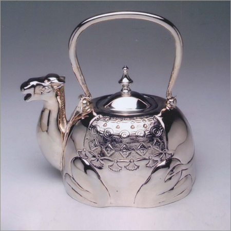 Antique Steel Kettle