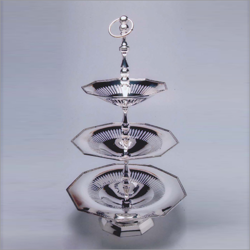 3 Tier Steel Cake Stand