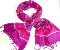 Purple Strip Girls Scarf