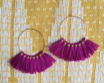 Designer Silk Thread Earring