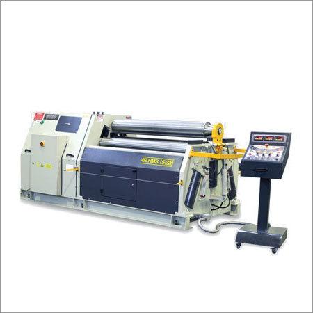 4 Roll Corrugated Plate Bending Machine