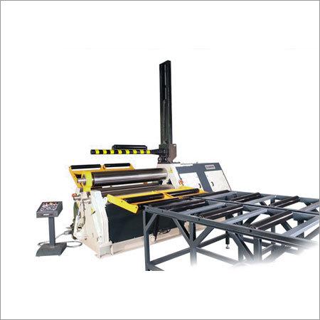 3R HSS 3 Rolls Plate Bending Machine