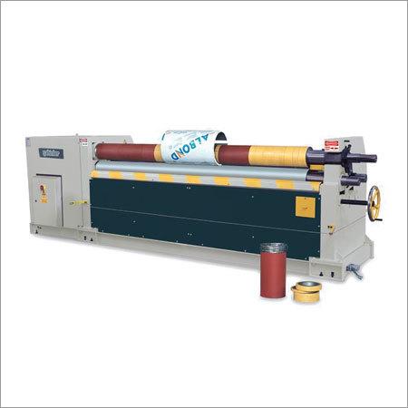 MRM-S 3 Rolls Plate Bending Machine