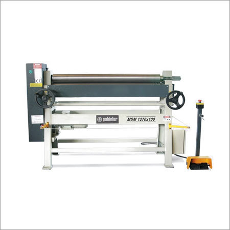 Motorised Assymetrical Heavy Duty 3 Rolls Plate Bending Machines