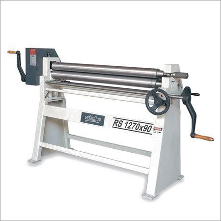 3 Rolls Manual Plate Bending Machine