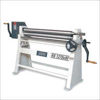 RS 3 Rolls Manual Plate Bending Machine
