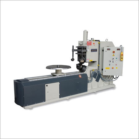 Circular Sheet Cutting & Flanging Machine