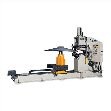 SDK 8 Circular Sheet Cutting & Flanging Machine