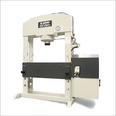 DPM General Purpose Straightening Presses