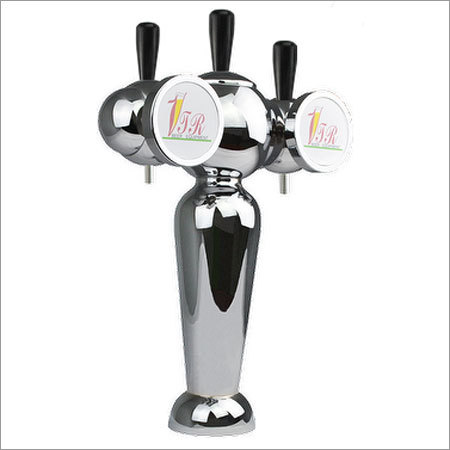 3 Faucets Robot Type Beer Draft Tower