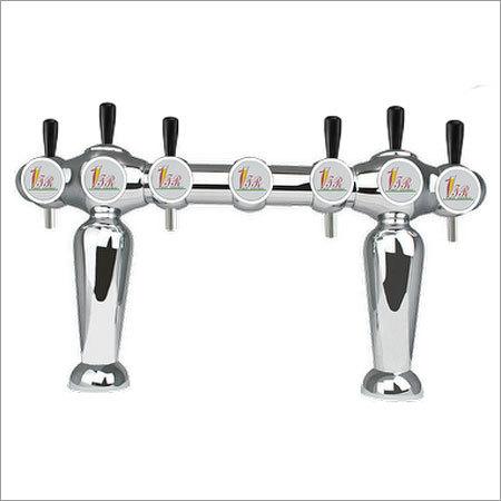 6 Faucet Robot Type Beer Draft Tower