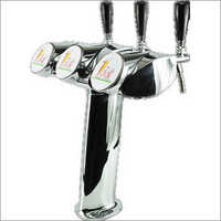 3 Faucet Alexander Type Beer Tap Tower
