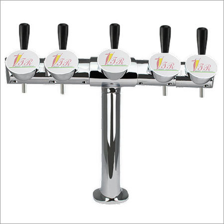 5 Faucet Alexander Type Beer Tap Tower