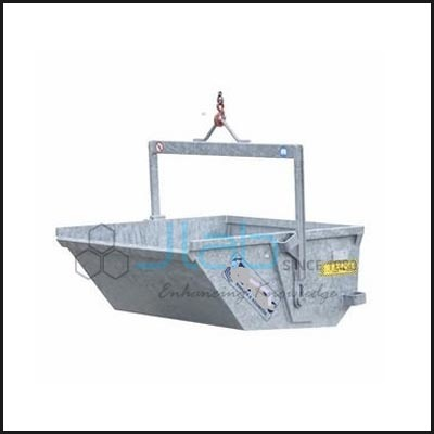 Steel Discharge Boat