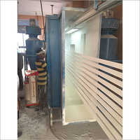section powder coating plant