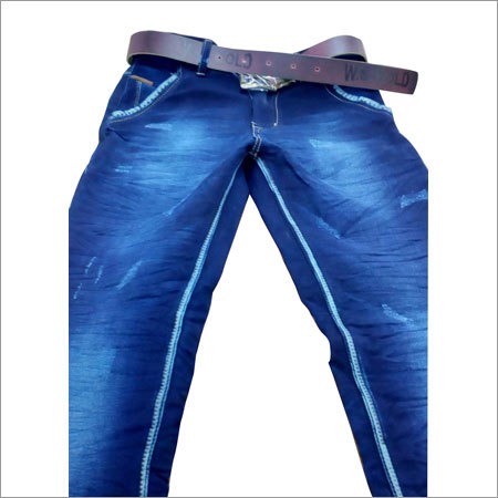 Men's High Light Wash Jeans
