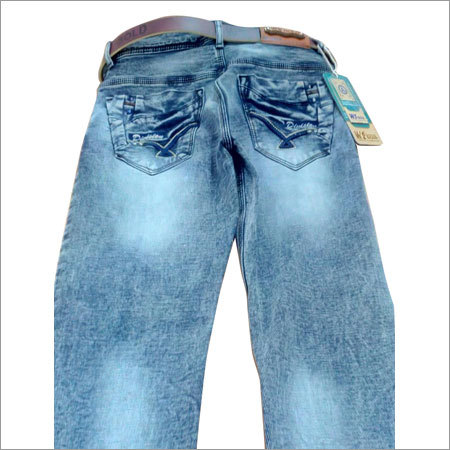 Men's High Light Wash Jean