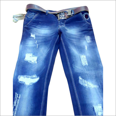 Men's Rugged Skinny Jeans