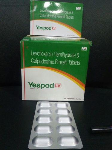 CEFPODOXIME200MG + LEVOFLOXACIN 250MG TAB