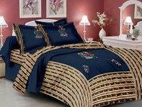 Jaipuri Patch Work Bed Sheet