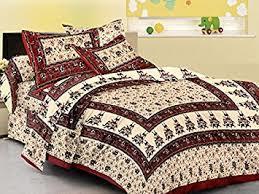 Bandhej Print Bed Cover