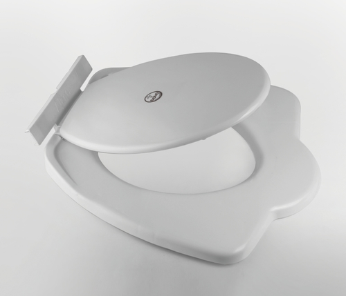 Round Closed Front Toilet Seat  Cover