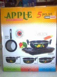 Cookware Sets - Apple 5 Piece Set