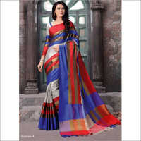 Ladies Fancy Silk Sarees