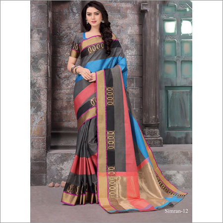 Ladies Designer Silk Sarees