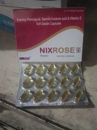 Nixrose Soft Gel Cap