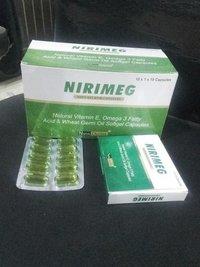 Vitamin E 400 I.U. + Wheat Germ Oil 100 Mg. + Omega-3 Fatty Acids 150 Mg.