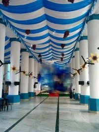Wedding tent decoration ceiling