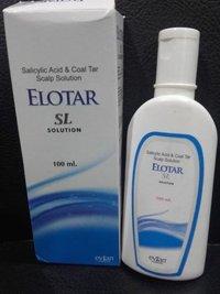 Coaltar 1% w/w+ Salicylic Acid 3% w/v Solution