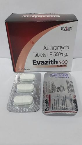 Azithromycin 500 mg. Tablets
