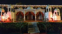 Shamiyana tent parda