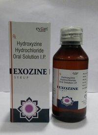 Hydroxyzine  10 mg. Syrup