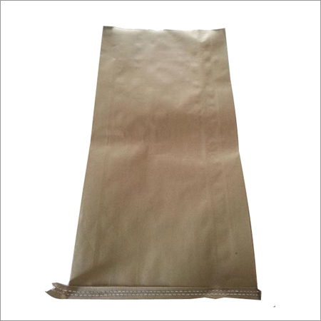 HDPE Laminated Paper Bag - Center Sealed