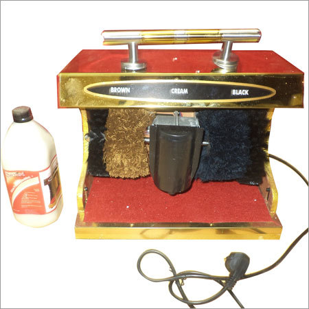 SHOE POLISH CREAM AND MACHINE