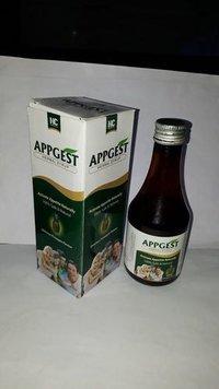 Appetizer & Digestive cap.