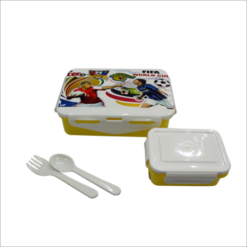 Lock & Seal Printed 600/800 ml Lunch Box