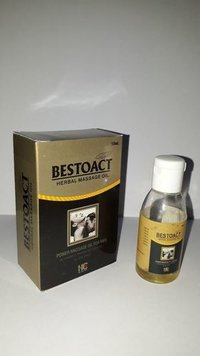 BESTOACT HERBAL MASSAGE OIL FOR Sexual Debility In men,premature Ejaculation,Lack of Confidence