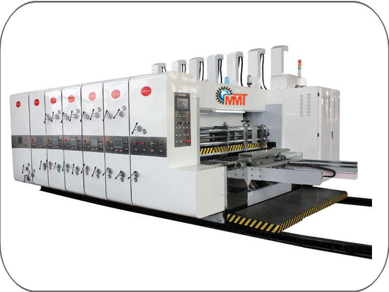 MMT High Speed Flexo Printing Slotting And Die Cutter Machine