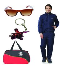 Abloom Track suit Duffle bag & sunglass Combo
