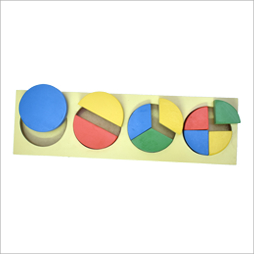 Wooden Fraction Toys