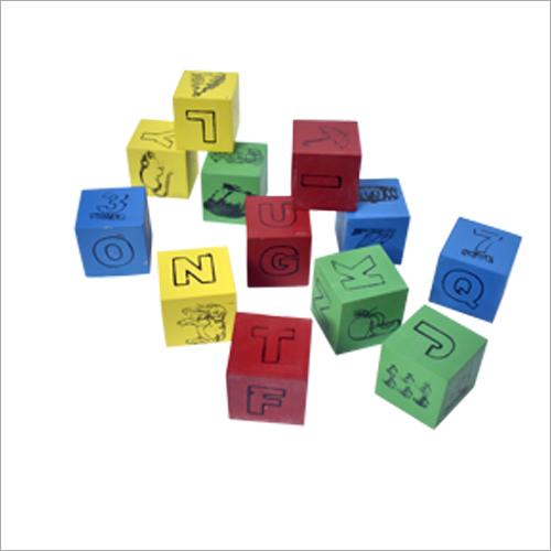 Wooden Alphabet Cubes