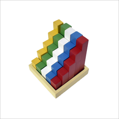 Education Wooden Staircase Block