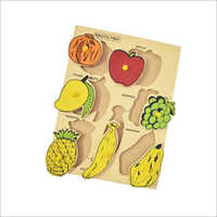Education Wooden Fruit Box